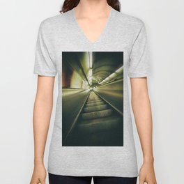 On the run Unisex V-Neck