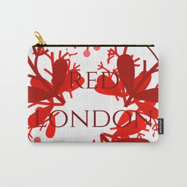 Red London Carry-All Pouch