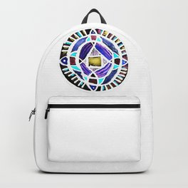 Four Season Life Mandala Backpack