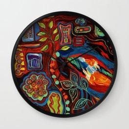 Colorfulness 2 Wall Clock