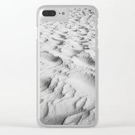 Dubai Sands Clear iPhone Case