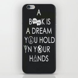 The book's are...  iPhone Skin