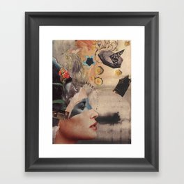 Yes, No, Maybe Framed Art Print