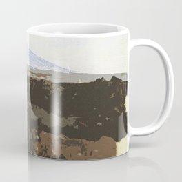 View of Mount Etna Coffee Mug