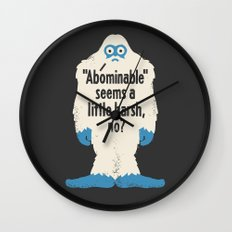 Not Cool Wall Clock