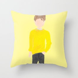 modern Cedric Diggory hufflepuff wizard hogwarts champion Throw Pillow