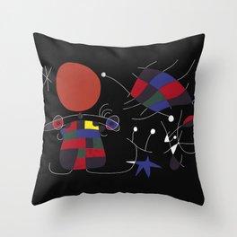 Joan Mirò #4 Throw Pillow