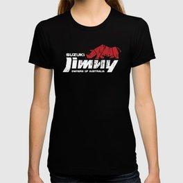 Suzuki Jimny Owners of Australia - Grunge Rhino Reversed T-shirt