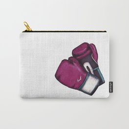 For the love of Boxing // HOT PINK & TEAL Carry-All Pouch