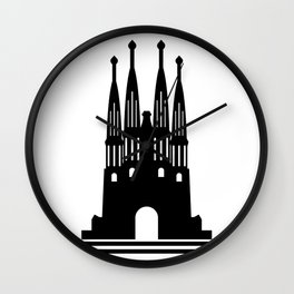 Sagrada Familia Wall Clock
