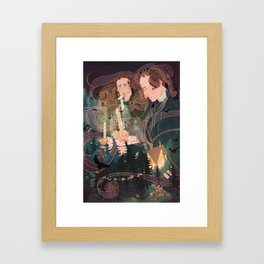 Grimm Brothers Framed Art Print