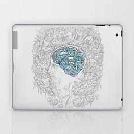Ancient Brainstorm grey Laptop & iPad Skin