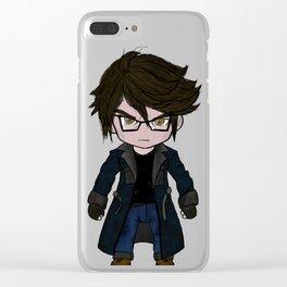 Goth Boy Clear iPhone Case