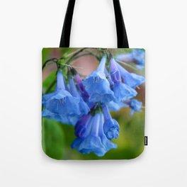 Pop of Blue Tote Bag