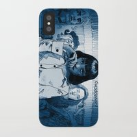 mia wallace iPhone & iPod Cases featuring Pulp Fiction - Mia Wallace by Rob O'Connor