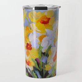 Daffodil Tangle Travel Mug