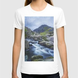 Tryfan Painting T-shirt