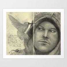 Moleskine Sketchbook Art Print