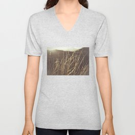 Gold in nature Unisex V-Neck