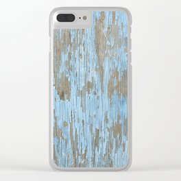 Dystopia: Chipped Paint Clear iPhone Case