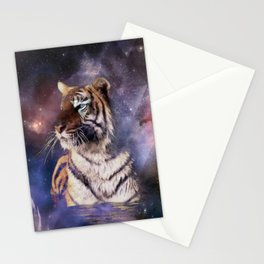 Triangle Tiger Stationery Cards