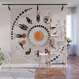 Zodiac Wheel Wall Mural