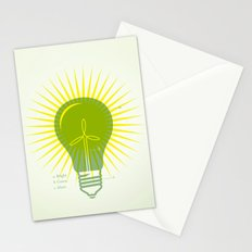 Bright Green Ideas Stationery Cards