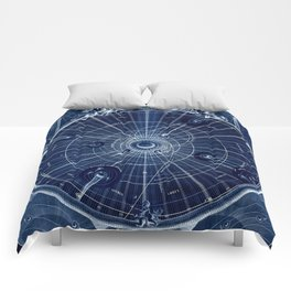 Celestial Map of the Universe Comforters