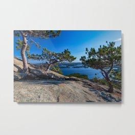 View of Squam Lake from Mt. Morgan. New Hanshire Metal Print