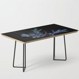 Winter Tree Fractal Coffee Table