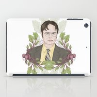 dwight schrute iPad Cases featuring Bears, Beets and Battlestar Galactica by Laura Francis Design
