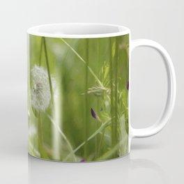 Three-Quarters of a Wish Left painterly Coffee Mug