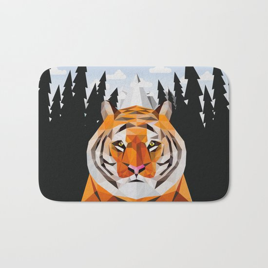 The Siberian Tiger Bath Mat