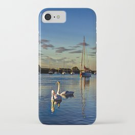 Swan River iPhone Case