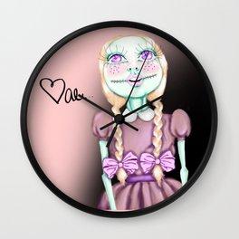 Rag Doll Wall Clock