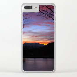 Sunrise on the Lake Clear iPhone Case