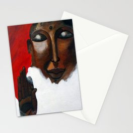 Buddha in the sky Stationery Cards