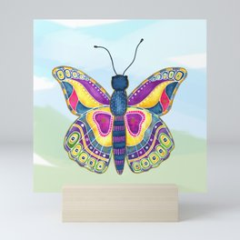 Butterfly III on a Summer Day Mini Art Print