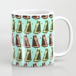 Doctor Who: Dalek Pattern Coffee Mug