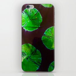 Green Moon iPhone Skin