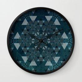Kaleidoscope 1 Wall Clock