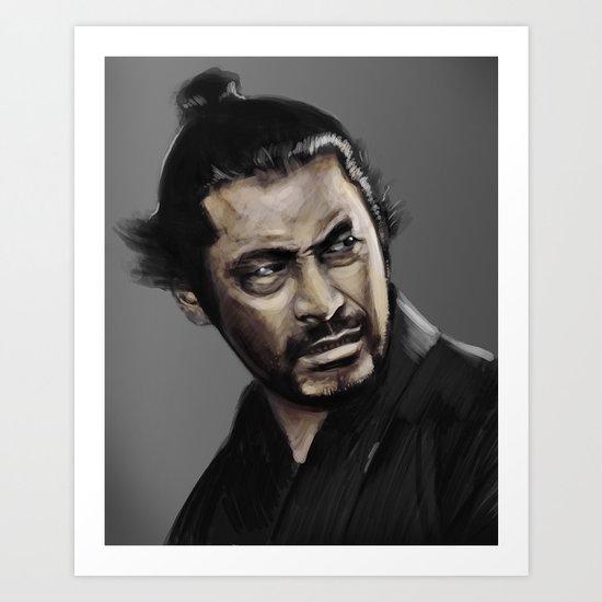 Yojimbo Art Print