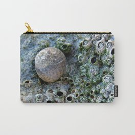 Nacre rock with sea snail Carry-All Pouch