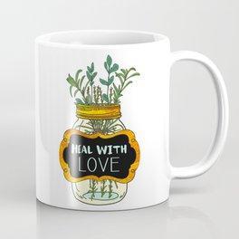 Heal With Love Coffee Mug