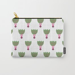 Pattern Purple Beet Carry-All Pouch