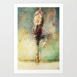 The Dancer Art Print