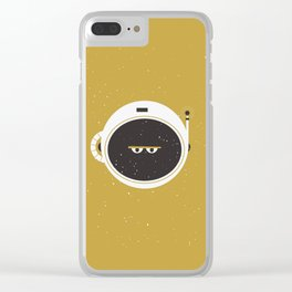 The Spaceman on the Sun Clear iPhone Case