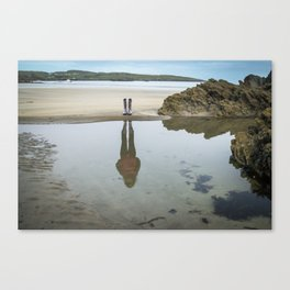 Not all there Canvas Print