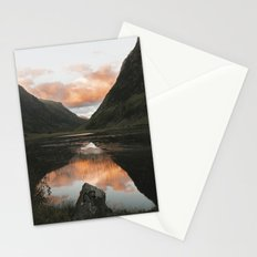 Time Is Precious - Landscape Photography Stationery Cards