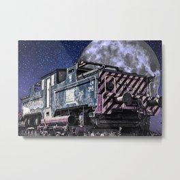 Iron Rails Hallucination Metal Print